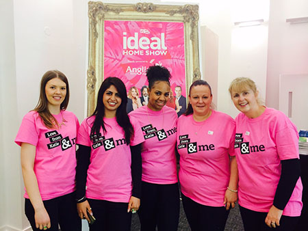 Ideal Home Volunteers pic